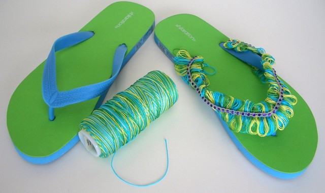 Summer Sandal Fringe, Creative Flip Flops