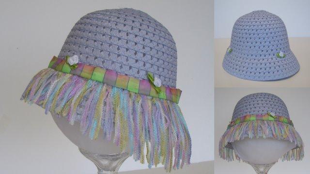 Summer Hat with Fringe, You make the fringe!
