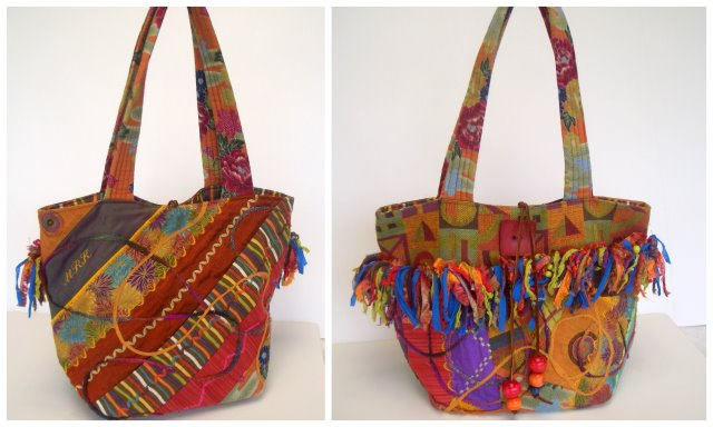 You can make this designer tote too!
