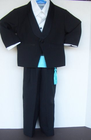 Formal Tux with custom tassel