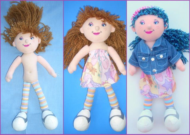 Doll Hair easy to make . . . using My Own Fringemaker