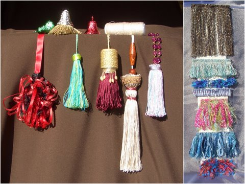 Make a variety of tassels using My Own Fringemaker