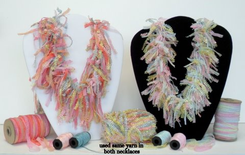 Making incredible jewelry is easy, using My Own Fringemaker