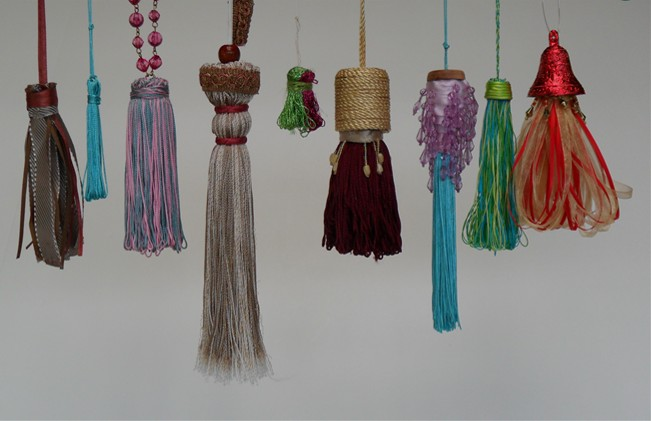 Sample Gallery hand crafted tassels, You Can make these too!