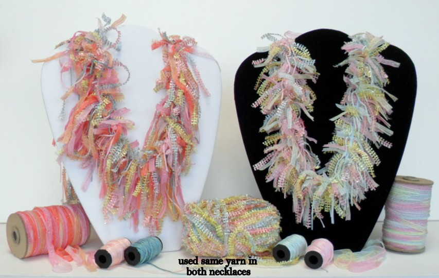 It's easy to make jewlery like this using My Own Fringemaker