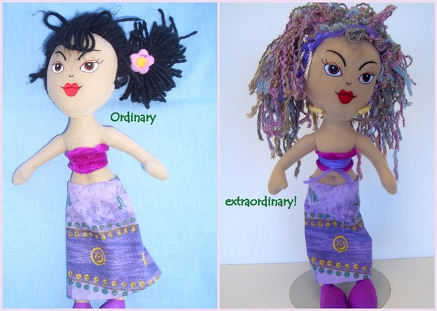 Easy to upgrade doll hair using My Own Fringemaker