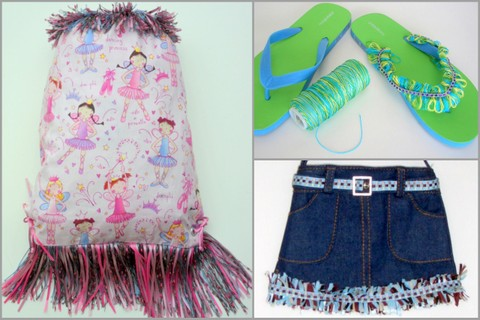 Fashion accessories fringed, make fringe it's fast and easy!