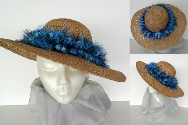 Fashion hat with fringe