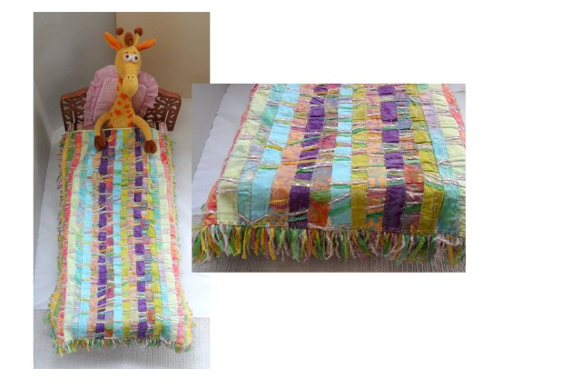Doll Quilt, Easy and fun to weave!
